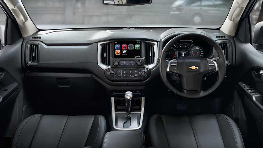 Chevrolet Trailblazer Interior Images - Chevrolet Thailand