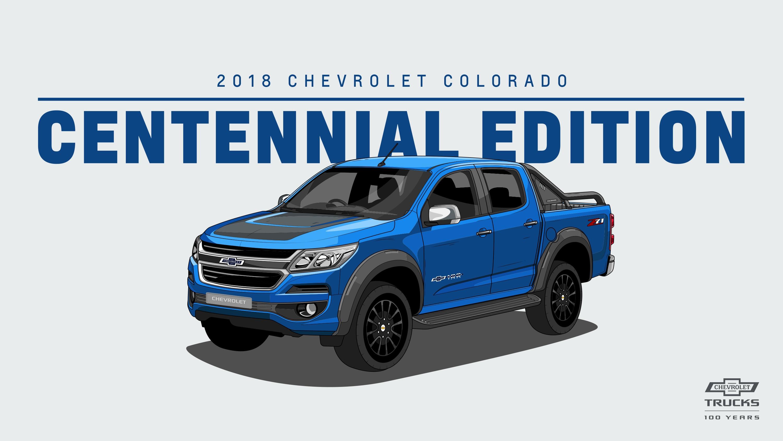 Chevy Colorado Accessories >> 2018 COLORADO CENTENNIAL EDITION | Chevrolet Thailand