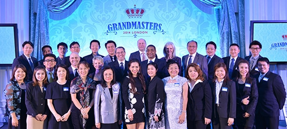 Thai Chevrolet Dealers Honored in London with  Grand Master Awards