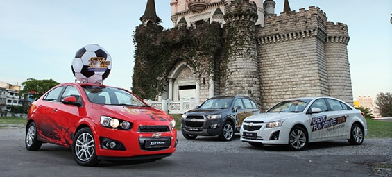Car Shoppers to Get Their Kicks at Chevrolet Fun Drive