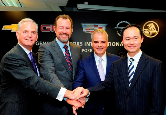 General Motors Opens New Regional Headquarters in Singapore