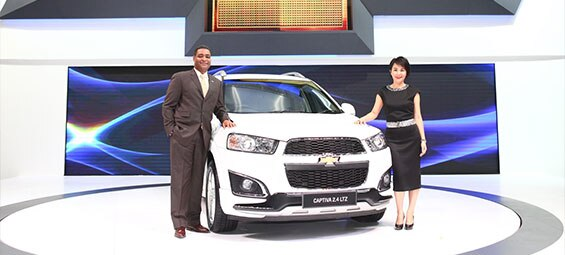 Chevrolet Introduces Special Editions and Complete Care Program at 31st Motor Expo