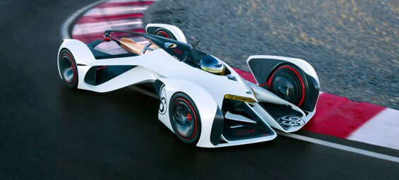 Chevrolet Chaparral 2X Vision Gran Turismo Hits the Track