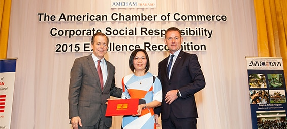 GM Thailand Wins Its Fourth Consecutive AMCHAM CSR Excellence Recognition