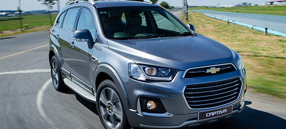 Chevrolet Launches New Captiva with Unsurpassed Smartphone Connectivity, Colorado High Country 'Storm' and Exclusive Promotion at Motor Expo